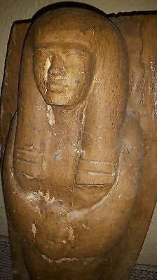 Pharaos Statue Des Holz
