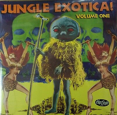 2 x LP / VA -✦✦ JUNGLE EXOTICA #1 ✦✦ Bongos, apes-noises and maracas galore!!!!!