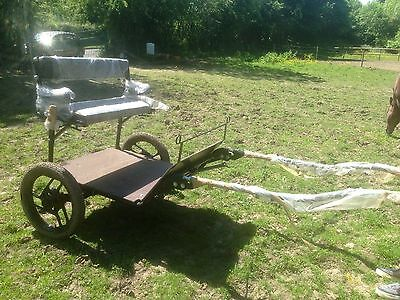 Hillam Pony up to Cob Exercise Cart / Trap