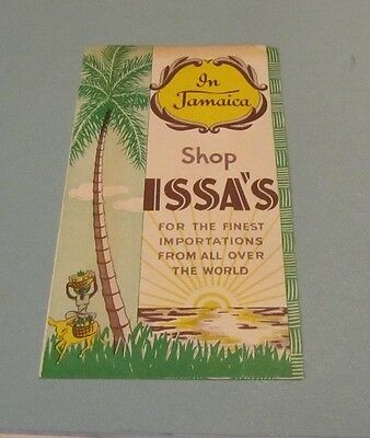 1952 Issa's Midget Shop Brochure Myrtle Bank Hotel Kingston Jamaica China Razors