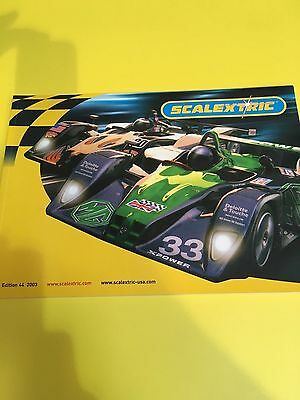 Scalextric 2003 edition catalogue in good condition