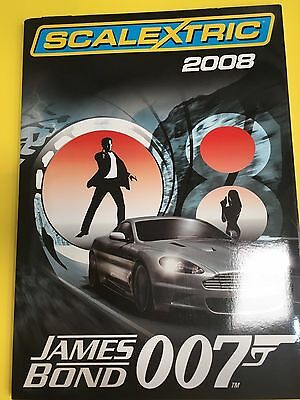 Scalextric 2008 brand new full A4 size 94 page catalogue