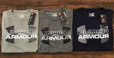 Under Armour Men's Big Logo Graphic Shortsleeve Tech Tee 1282932