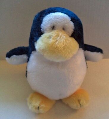 "RARE Dakin 1983 Chewie Newgett Company Freddy Penguin 8"" Plush Animal"