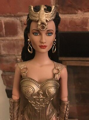 Tonner DC STARS AMAZONIAN WARRIOR WONDER WOMAN Dressed Doll Displayed and Mint
