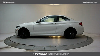 2016 BMW 2 Series M235i M235i 2 Series 2 dr Coupe Gasoline 3.0L STRAIGHT 6 Cyl Alpine White