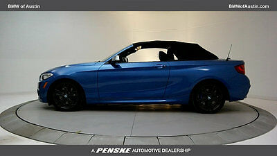 2016 BMW 2 Series M235i M235i 2 Series Low Miles 2 dr Convertible Gasoline 3.0L STRAIGHT 6 Cyl Estoril B