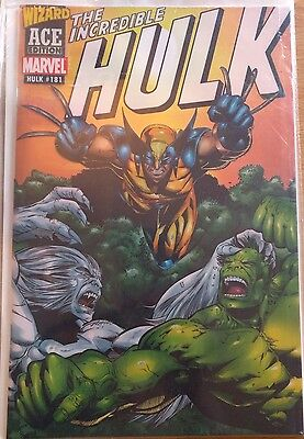 Marvel Wizard Ace Edition Incredible Hulk 181 Featuring 1st App of Wolverine!
