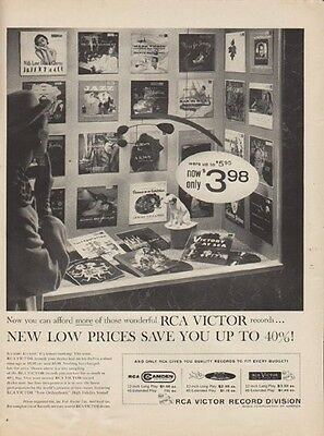 """1955 RCA Victor Ad """"New Low Prices"""""""