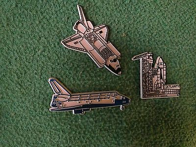 Nasa Space Shuttle  Atlantis Discovery Colombia  Vintage Fridge Magnets Lot
