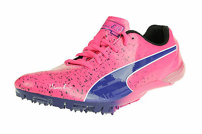 Puma Bolt EvoSpeed Electric v2 Gr 39 UK 6 Laufschuhe Sprint Pink 187854 03