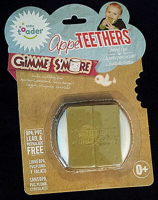 NEW-AppeTEETHERS by Little Toader-Gimme S'more Teething Toy/Boy-Girl-0+