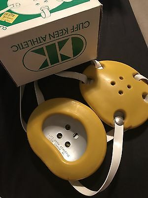 Cliff Keen Headgear Vintage With Box Gold
