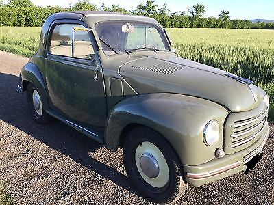 1949 Fiat 500 C Coupe convertible 2 doors, 2 seats Fiat topolino C roadster convertible 1949 perfect conditions, very rare