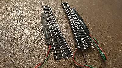 N scale  Track Atlas Automatic Switch  Tracks 1 left and 1 right handed