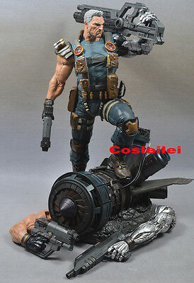 Hot XM STUDIOS 1/4 Marvel Cable STGCC EXCLUSIVE Recast Statue