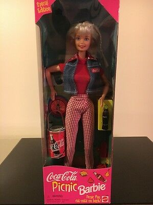 Coca Cola Picnic Barbie 1997 Special Edition