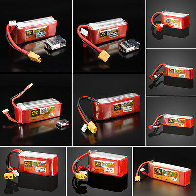 ZOP Power 7.4V-22.2V 1500mAh-6200mAh 2S-6S 45C-90C Lipo Battery For RC Airplane