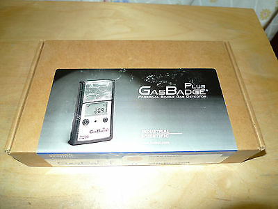 Industrial Scientific Plus Gasbadge Personal Single Gas Detector (SO2)