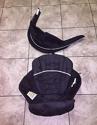 Front SLING & Rear CANOPY - Graco CLICK CONNECT DOUBLE Stroller - No Stroller