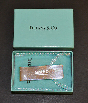 Tiffany & Co. 0.925 Sterling Silver GMAC Money Clip -FREE FAST SHIPPING!