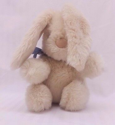 1987 Applause 11 Inch Long Eared Plush Lop Rabbit Stuffed Animal vintage w/ tag