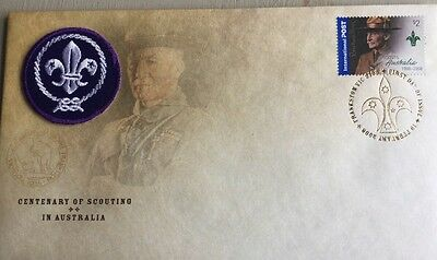 2008 Centenary Of Scouting In Australia First Day Cover