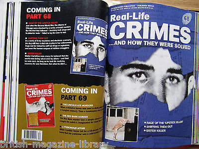 Real Life Crimes # 68 Walter Cartaftes
