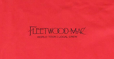 Fleetwood Mac 2016 Local Crew Shirt!  Xl - Unworn!  Look!
