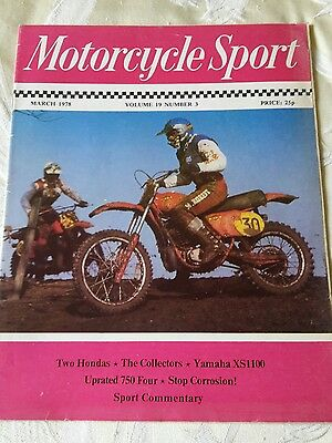 Motorcycle Sport magazine collection 1976-1995 (vintage motorbike)