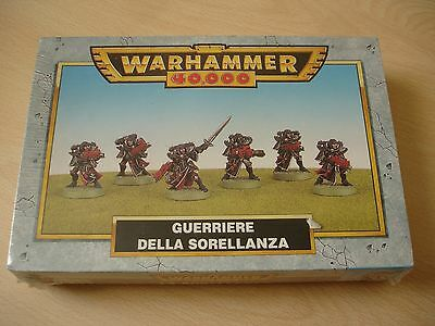 Warhammer 40k - Adepta sororitas - Sorellanza - Battle sisters - Games Workshop