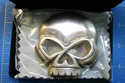 New Limited Edition Harley-Davidson Willie G/ King Baby Sterling Silver Buckle