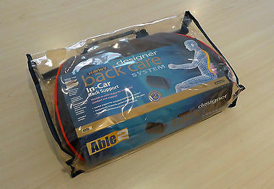 Harley Designer Memory Foam Car/Low Back Support Cushion with Straps RRP £40