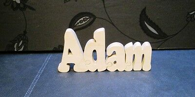 wooden name jigsaw puzzle Free standing