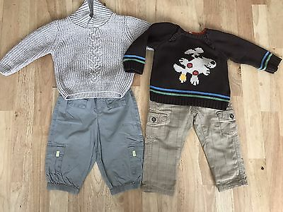 Baby boys bundle 9-12 months mini mode h&m and mothercare