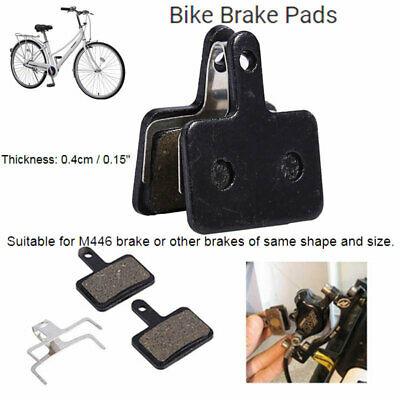4 Pair Bicycle Bike Cycling Resin Copper Disc Brake Pads for Deore M446 M525