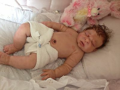 sold silicone reborn baby girl