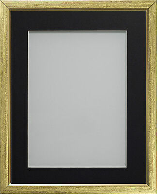 Gold Drayton Range Picture Photo Frames With Choice of Mount Colours