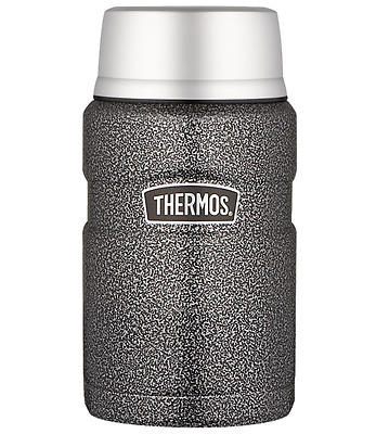 Thermos 710mL St/Steel Vacuum Insulated Food Jar - Hammertone