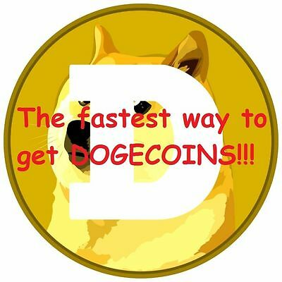 Dogecoin cryptocurrency 1000 coins to your digital address in 24 hours