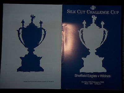 SHEFFIELD v WIDNES  14/02/93  EXCELLENT
