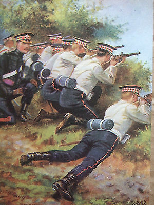 Military Card- The Scots Guards  By Harry Payne