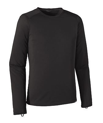 Patagonia Men's Capilene Thermal Weight Crew Base Layer - Black