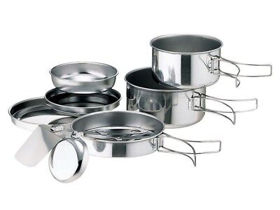 Snow Peak Stainless Steel Personal Cooker No.3