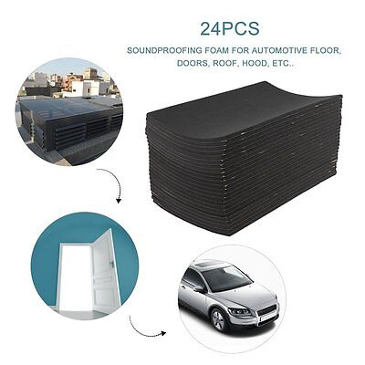 24 X Acoustic Egg Panels Tiles Studio Sound Proofing Insulation Closed Cell Foam