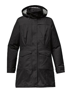 Patagonia Women's Waterproof Torrentshell City Coat - Black