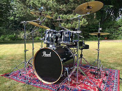 Pearl Export ELX Drum Kit with Original Pearl Hardware + Matching Snare