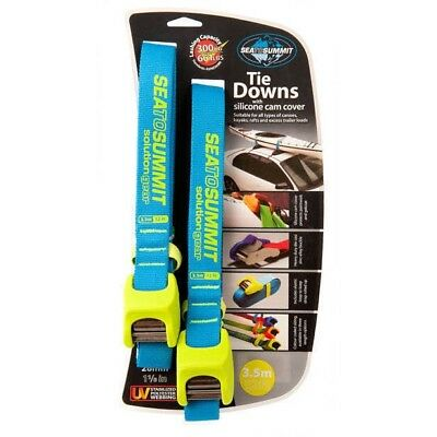 Solution Kayak Tie Down Straps with Silicone Cam Cover 3.5m