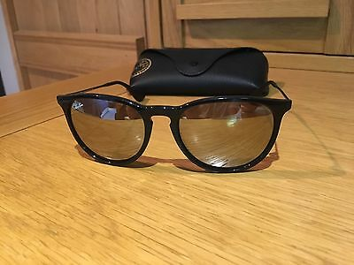 Ray-Ban Erika - RB4171 Black with Reflective Lenses
