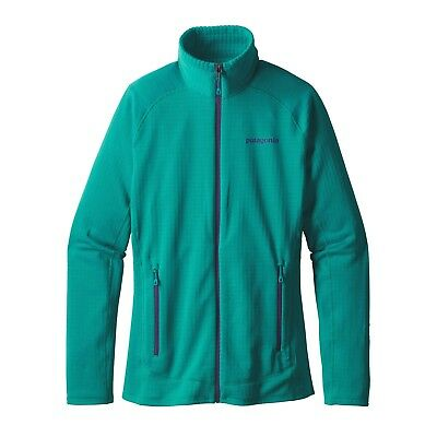 Patagonia Women's Regulator Fleece Full-Zip R1 Jacket - True Teal